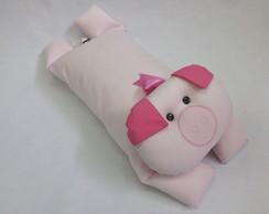 Porquinha - travesseiro