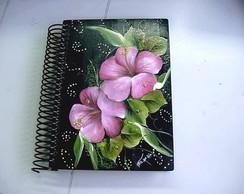 Caderno em Mdf Decorado