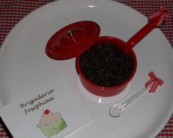 Mini Panelinha de Brigadeiro - Vermelha