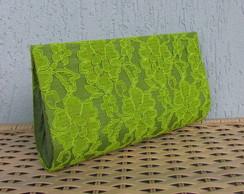 Clutch Renda Verde