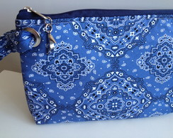 Clutch Bandana Blue