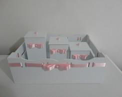 Kit Higiene Beb� - Rosa ou Lil�s