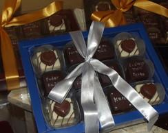 Caixa de chocolate declara��o de amor