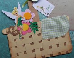 Convite Tinker Bell [cestinha + tag]