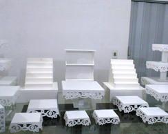 Kit de Bandejas Proven�al - Aluguel SP
