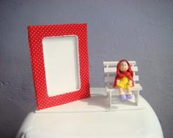 porta retrato chap�uzinho vermelho