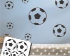 Adesivo Decora��o Cartela bolas futebol
