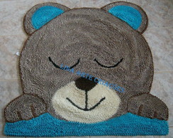 Tapete Infantil urso dormindo
