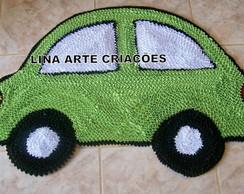 Tapete Infantil carrinho fusquinha verde