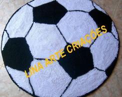 Tapete Infantil bola branco e preto