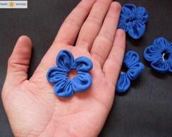 Flor de Fuxico - V�rias Cores