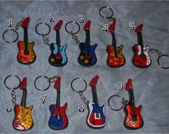 Lembran�a Chaveiro Guitarra