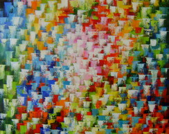 Painel Abstrato 100x140 Cod 603