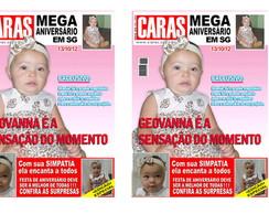 Convite Capa Revista Caras