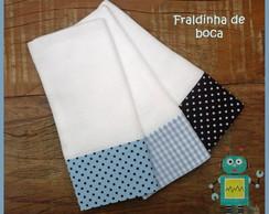 Kit 3 Fraldinhas De Boca