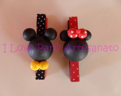 Pregador MICKEY E MINNIE