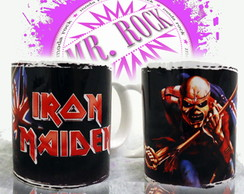 Caneca Banda Iron Maiden The Trooper