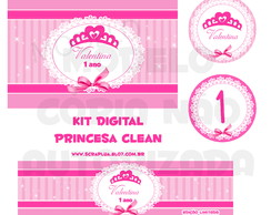 Kit Digital Princesa Clean