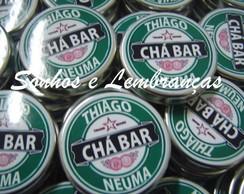 Latinha Personalizada Ch� Bar