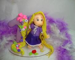 Mini Topo Rapunzel dos enrolados