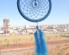 Filtro Dos Sonhos Azul Com Pena