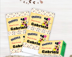 Chiclets Mickey e Minnie