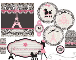 Kit festa personalizada Paris
