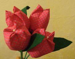 tulipa rosa com po� lilas