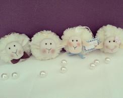 Lembrancinhas Ovelhas sach� Perfumado