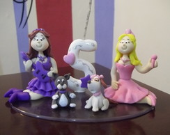 Topo Barbie princesa e Pop star