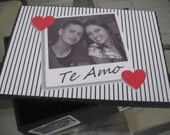 Caixa Personalizada Amor