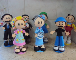 BONECOS TURMA DO CHAVES
