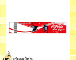 R�tulo Coca Cola - Batman