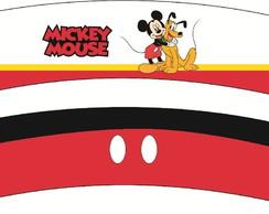 Mickey - R�tulo para copo