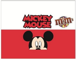 Mickey - R�tulo para M&M