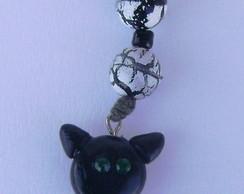 Chaveiro gato preto