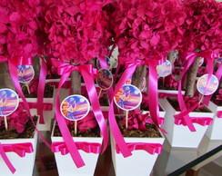 Topiara Pink de hortencia & topper