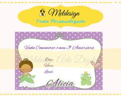 Convite A Princesa E O Sapo
