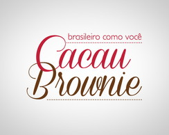 Logotipo Cacau Brownie