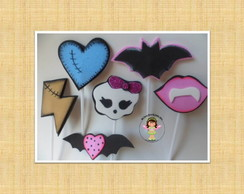 Palito para  CupCake Monster High