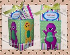 Caixa de leite Barney