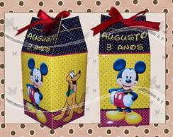 Caixa de leite Mickey