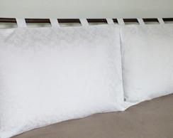 """Cabeceira """"capas de travesseiro"""" - 2 p�s"""