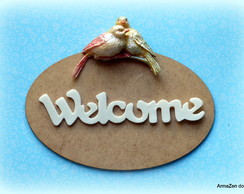 Kit Mdf + P�ssaros + Welcome
