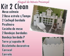 KIT 2 CLEAN LOCA��O