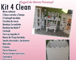 KIT 4 CLEAN LOCA��O