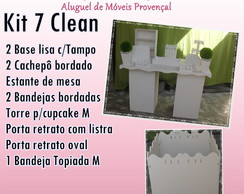 KIT 7 CLEAN LOCA��O
