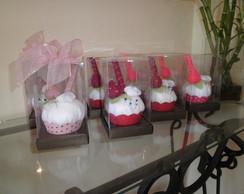 Cupcake alfineteiro e agulheiro