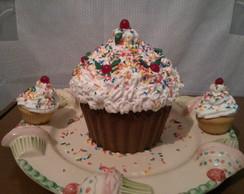 Cup Cake com Chantilly