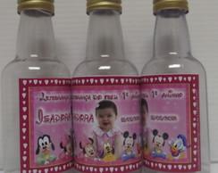 Mini garrafinha Pet 50 ml com foto